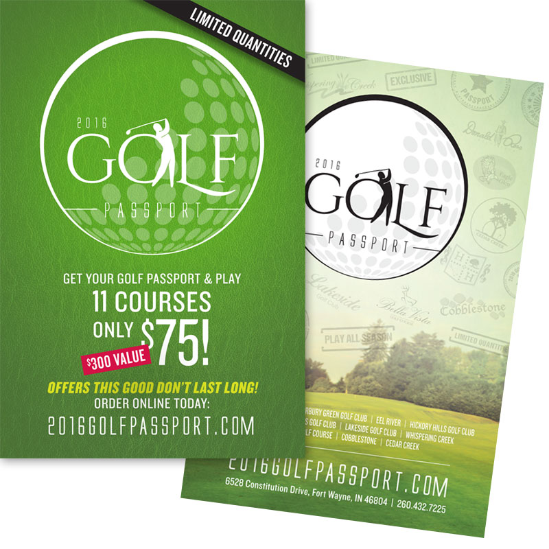 2016 Golf Passport