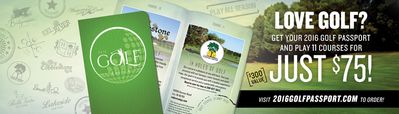 2016 Golf Passport