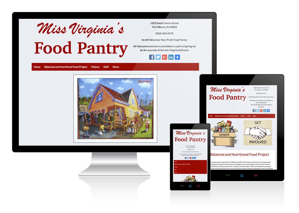 Miss Virginia's Food Pantry